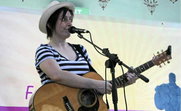 Jenny Biddle from Melbourne is back to perform this year.