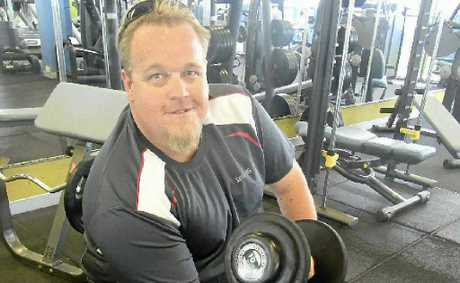 MAKING A DIFFERENCE: Truckie Daniel Vorbach is ready to take on the Swap It Don't Stop It Challenge.