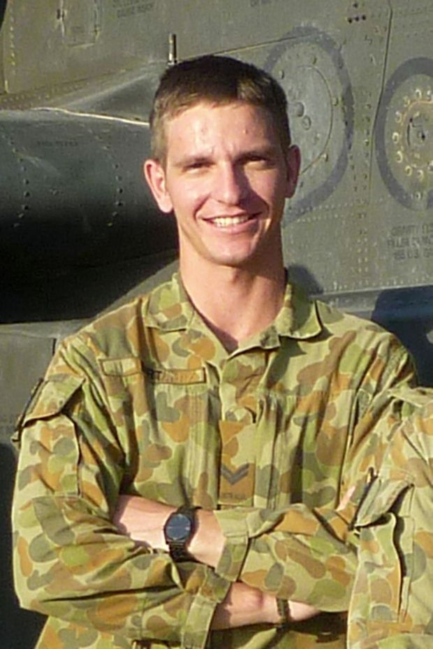 TRUE HERO: Ashley Birt's name has been added to the National War Memorial in Canberra.