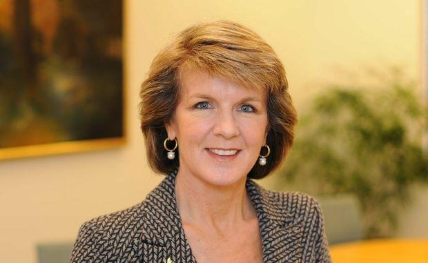 Deputy leader of the opposition Julie Bishop.