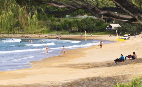 Agnes Water has been named in the 101 Best Beaches in Australia book.