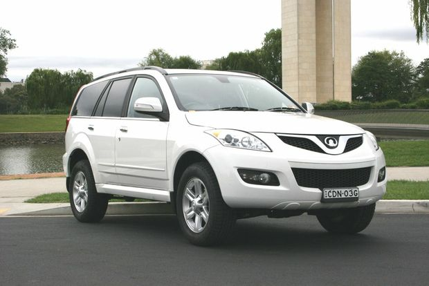 Standard equipment on the Great Wall X240 includes leather trimmed seats, Bluetooth, alloy wheels, reverse camera and climate control air con.
