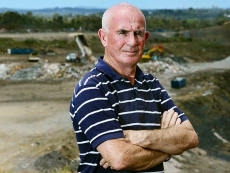 SPEAKING OUT: Mitch Dodrill is unhappy the Transpacific New Chum landfill is being expanded.