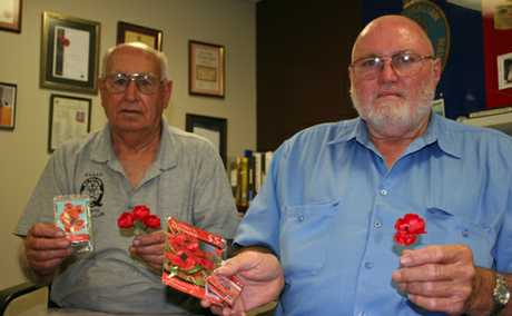 Remembrance Day will be commemorated this year with poppies.