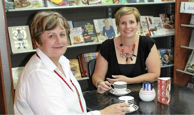 BON VOYAGE: Joanne Ross and Anita Moore have closed Blossoms Gifts and Homewares.