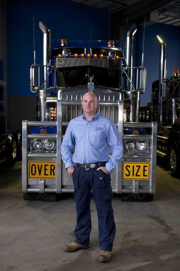 Jon Kelly, owner of Heavy Haulage Australia, stars in the TV series Mega Truckers.