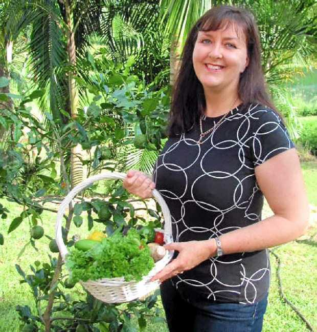 SHARING KNOWLEDGE: Micro-garden expert Anne Gigbson returns to the Peregian's Veggie Village on November 17.