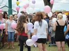 Balloons released in tribute to 14-year-old crash victim