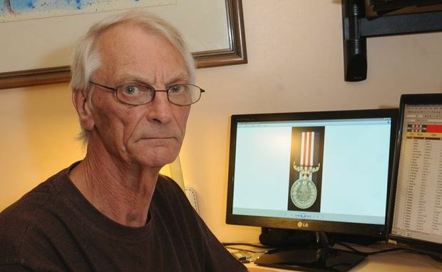 Maryborough's Stuart Kaye has helped to develop one of the most extensive lists of Australian Military Medal recipients.