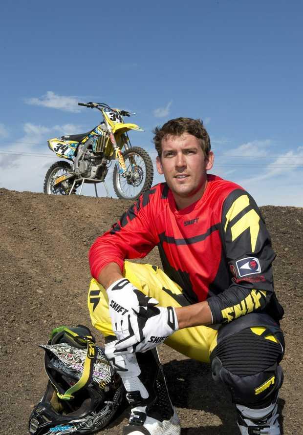 Supercross rider Matt Haworth is looking to break into the top 10 when the Australian Supercross Championships roar into Toowoomba.