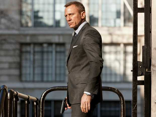 Daniel Craig in a scene from the movie Skyfall.