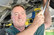 LEADING BY EXAMPLE: Bill Olah from Ron Hill Automatics.