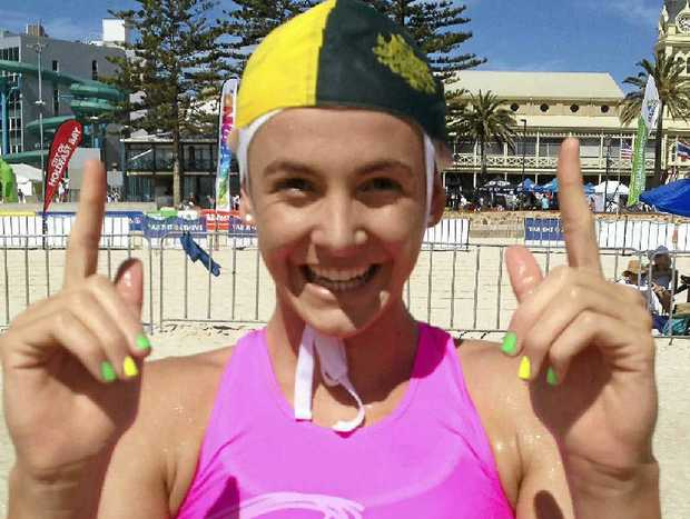 Jordan Mercer caps off a memorable National Teams Championships in Adelaide with gold in the youth ironwoman.