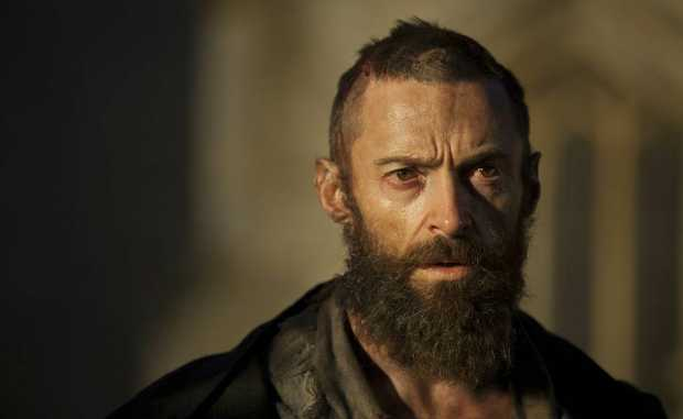 Hugh Jackman in a scene from the movie Les Miserables. Supplied by UPI Media.