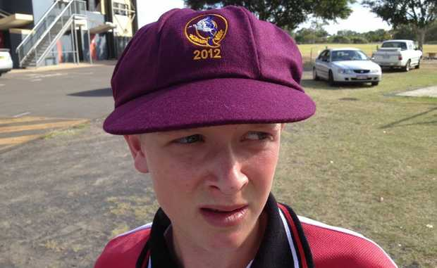 STATE SELECTION: Murgon's Jared Sippel has made the Queensland 12 and under schoolboys cricket team.