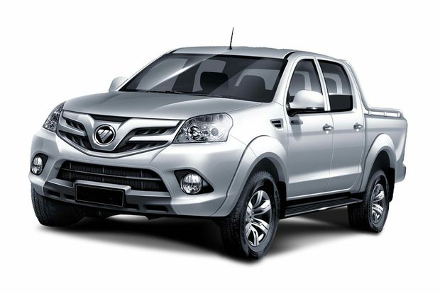 Foton will launch with the Tunland dual cab ute, starting from $28,000.