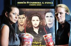 END OF AN ERA: Twilight fans Suellen Telford and Tammy Behr are excited about the latest instalment of the Twilight movies.