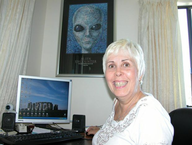 Mary Rodwell, from the Australian Close Encounter Research Network.