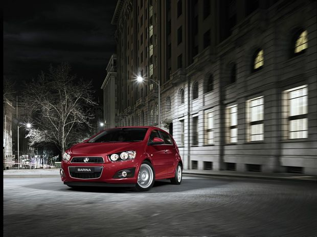 Holden's new Barina CDX is forecast to be available in December.