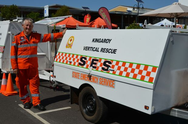 THANKS: Peter Verbakel has spent 10 years as part of the SES.