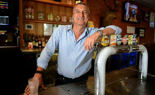 Mick Fabris at Coolangatta Sands Hotel says schoolies aren't the target crowd.