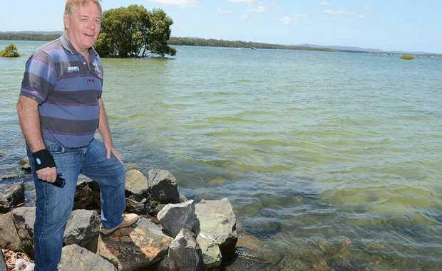 Cr Mark McDonald wants a new public jetty at Norman Pt, Tin Can Bay.