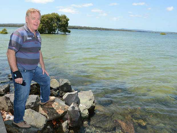 Cr Mark McDonald wants a new public jetty at Norman Pt, Tin Can Bay.