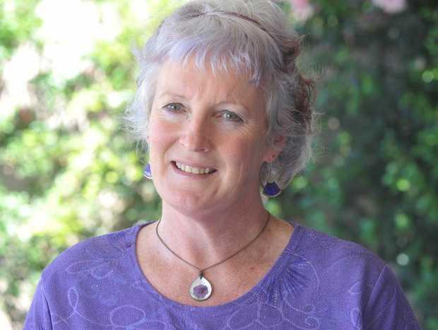Awards committee chair Sandy Stewart.