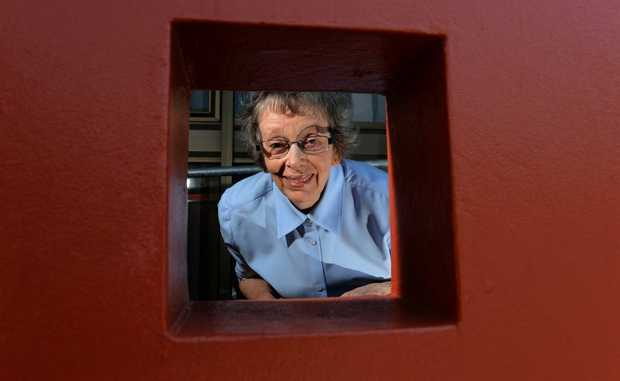 Jennifer Ferris at the Civic Centre. Photo: John Gass / Daily News