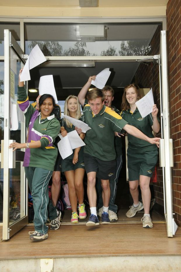 After the excitement of graduating four weeks ago, Toowoomba's school leavers are now waiting for their Year 12 results.
