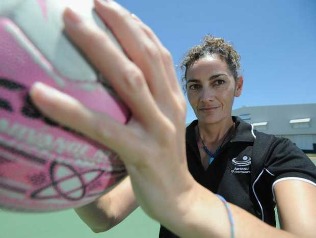 Kerrianne Farrelly - coach Wide Bay Thundercats state league netball team.