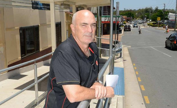 Charlie's Hotel manager Paul Pilkington says CCTV security systems at the Monkland St cab rank will improve public safety this Christmas.