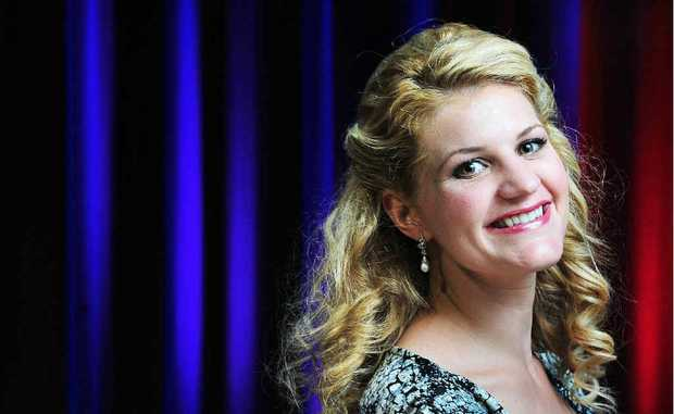 HER OWN TOUR: Opera singer Mirusia will perform with a choir orchestra in Ipswich on November 18.