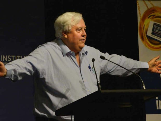 Clive Palmer claims the state debt claims are exaggerated.