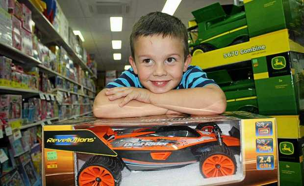 Bau Boston, 4, is putting a remote control car on his Christmas wish list.