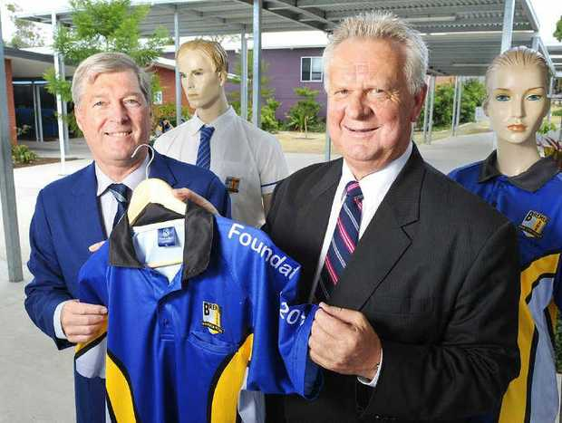 COVERED: Bremer principal Bruce Saxby and Apex Foundation director Tony Wilshire.