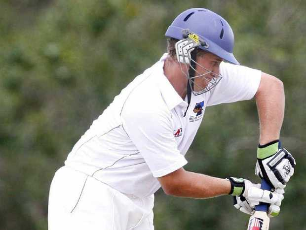 RUNS SCARCE: Ryan Hurley is Laidley's second-highest run-scorer this season with 92 from two innings, behind competition leader Mick Sippel's 226 from three innings.