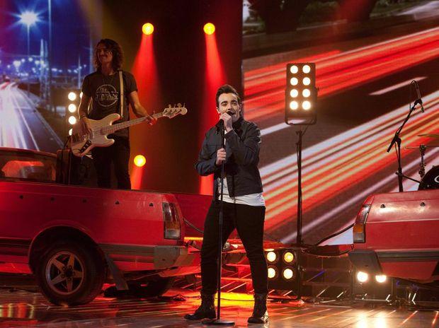 X Factor finalist Jason Owen.
