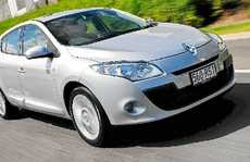 The Renault Megane Hatch powered by a diesel engine.