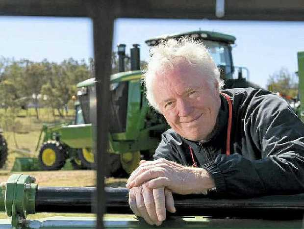 MOVING ON: Ag Show CEO Peter Erwin is handing over the reins.