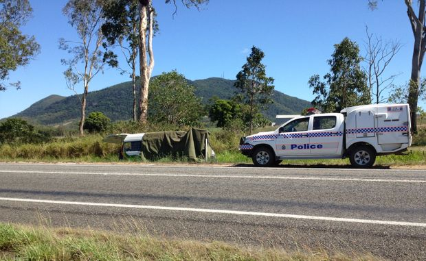 A man has died in a single vehicle accident this morning.