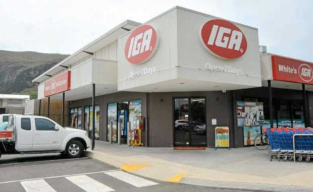 CRIME SCENE: The Mt Coolum IGA.