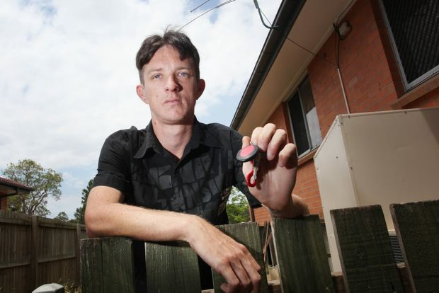 Loganlea resident Darren Smith had his bike stolen recently and is appealing to have it returned. Photo: Inga Williams / The Reporter