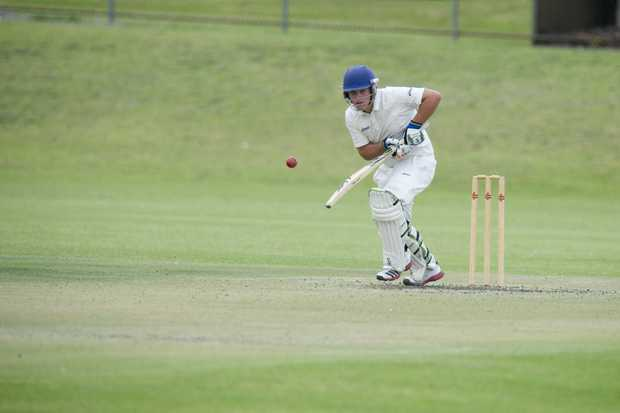 Metropolitan-Easts batsman Sam Howse top scored with 65 against Railways as the Trojans blasted their way into the TCI A-grade one-day final.
