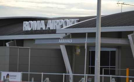 Will there soon be competition for QantasLink at Roma airport?