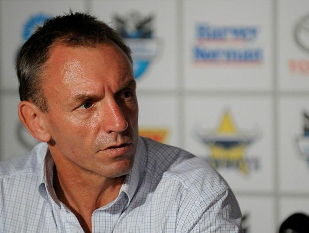 North Queensland Cowboys coach Neil Henry.