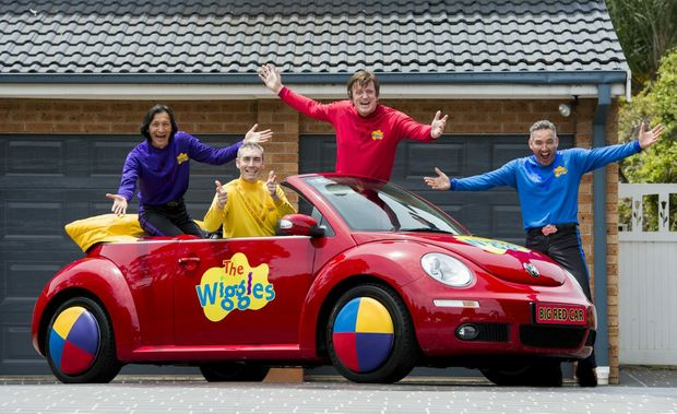 Volkswagen and the Wiggles are auctioning a Big Red Car for charity.
