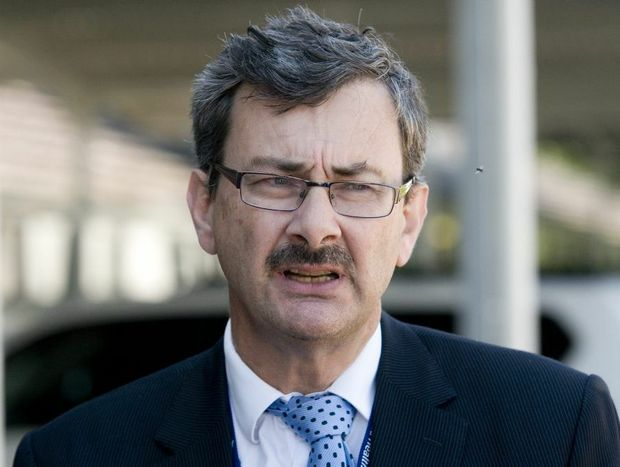 Darling Downs District Health and Hospital Board CEO Dr Peter Bristow.