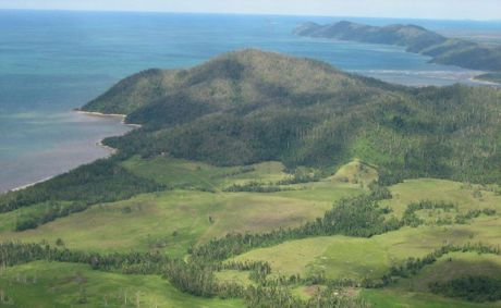 The site for the $1.4 billion tourism development, Ella Bay, near Innisfail in north Queensland.
