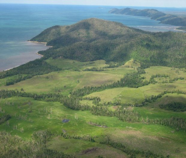 The site for the $1.4 billion tourism development, Ella Bay, near Innisfail in north Queensland.